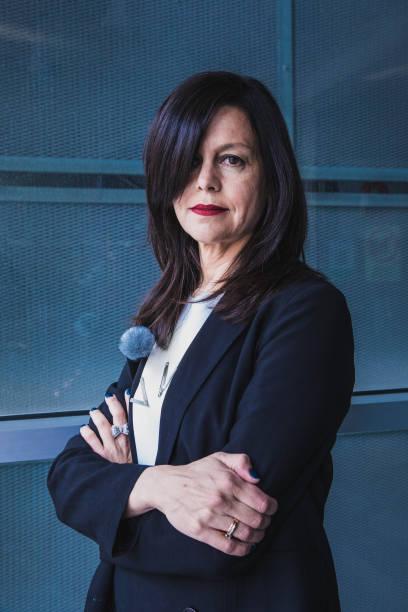 ESP: Pilar Torrecillas - Fashion Designer Portraits - Mercedes Benz Fashion Week Madrid - April 2021