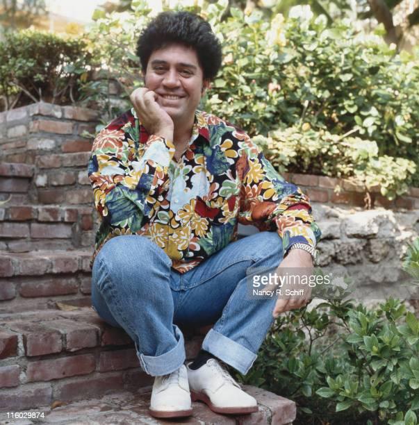 Spanish film director and screenwriter Pedro Almodovar, circa 1985.