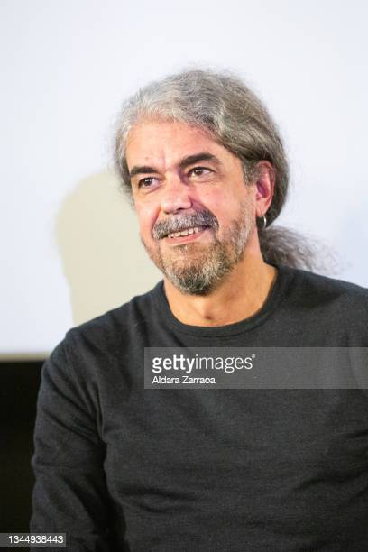 Spanish film director Fernando Leon de Aranoa speaks in the announcement that his film 'El buen patron' is the Spanish candidate to Oscars 2022 on...