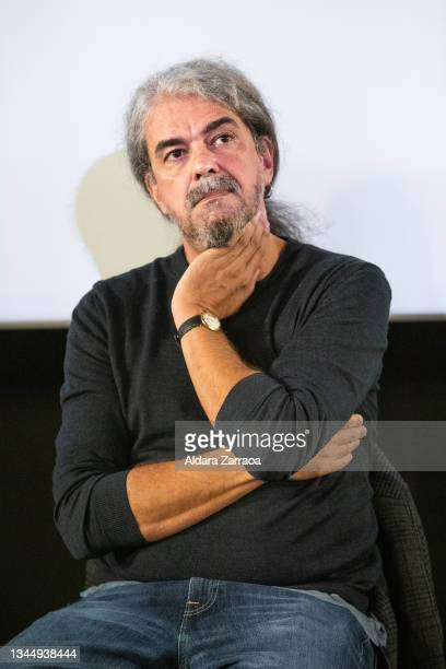 Spanish film director Fernando Leon de Aranoa speaks in the announcement that his film 'El buen patron' is the candidate to Oscars 2022 on October...