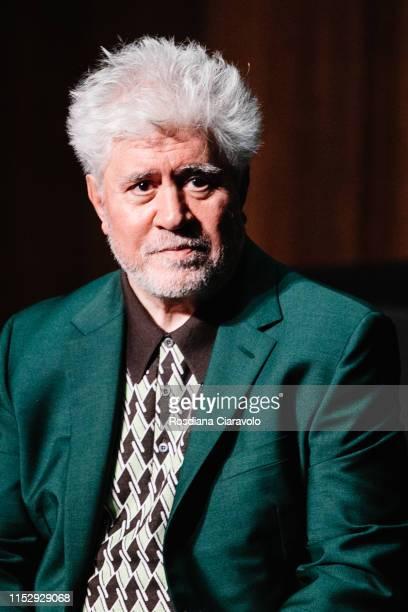 "Spanish filmmaker, director, screenwriter, producer, and former actor Pedro Almodovar attends the presentation of the ""Soggettiva Pedro Almodóvar"" at..."