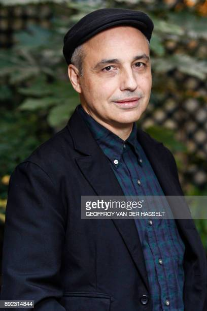 Spanish filmmaker Pablo Berger poses in Paris on December 12 during the promotion of his film 'Abracadabra' / AFP PHOTO / GEOFFROY VAN DER HASSELT
