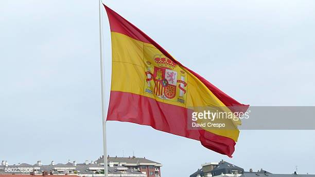 spanish flag - free walpaper stock photos and pictures