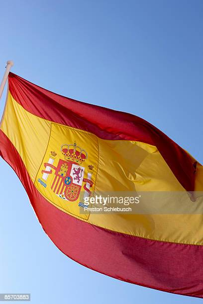 spanish flag - schlebusch stock pictures, royalty-free photos & images