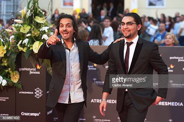 Spanish flamenco dancer Farruquito and Manolo Sanlucar attend Rumbos premiere at the Cervantes Theater during the 19th Malaga Film Festival on April...