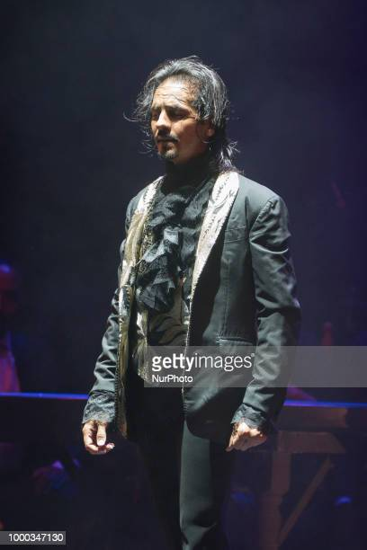 Spanish flamenco dancer Farruquito performs at the Noches del Botanico concert offered at the Complutense University in Madrid Spain 16 July 2018