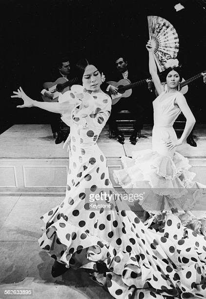 Spanish flamenco dancer Manuela Vargas and her Flamenco Company of Dancers Singers and Guitarists including her 17 year old sister Bolita Vargas...