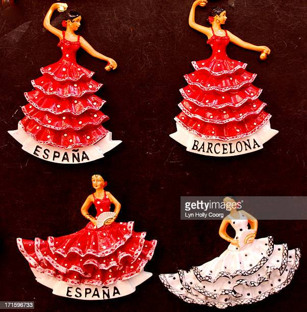 spanish flamenco dancer ornaments - lyn holly coorg stock pictures, royalty-free photos & images