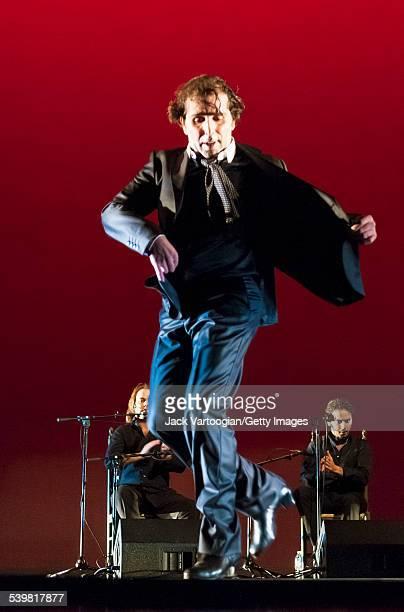 Spanish Flamenco dancer Pepe Torres performs at the World Music Institute 'Flamenco Festival Gitano' at the Skirball Center at New York University,...