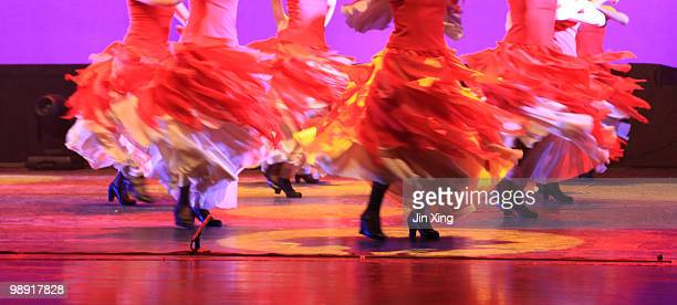 spanish  flamenco - flamenco dancing stock photos and pictures
