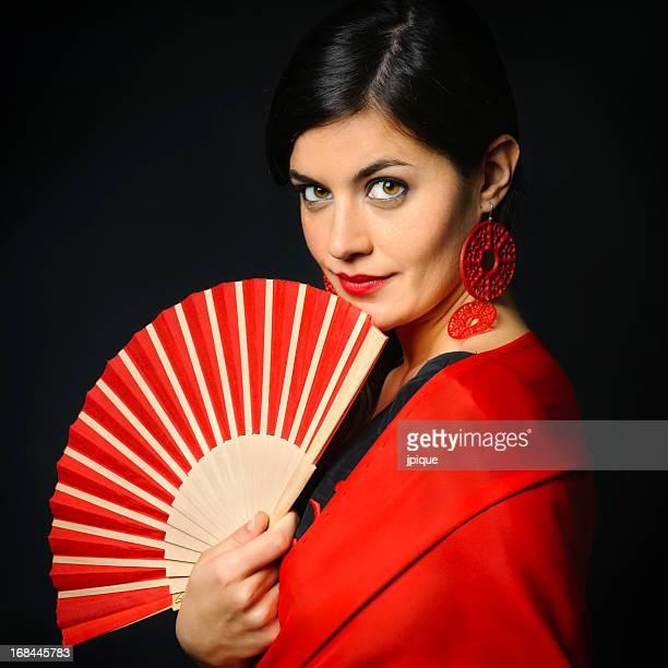 Spanish flamenco portrait