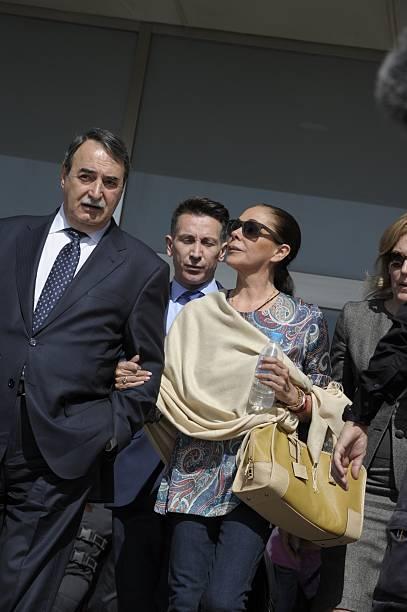Isabel Pantoja Attends Sentence Hearing At Malaga Court