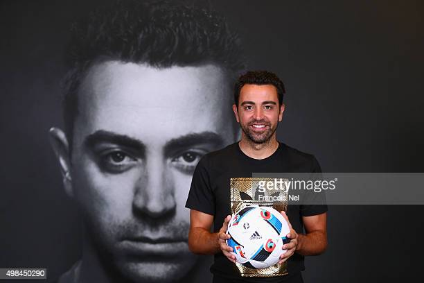 Spanish football legend Xavi opens adidas zone in the new flagship GoSports Store in the Mall of Emirates Dubai One of the greatest footballers of...