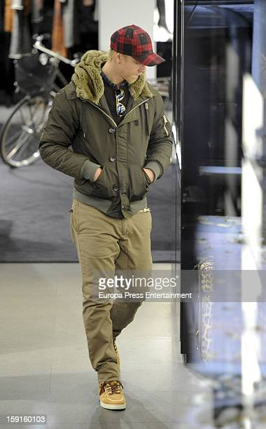Spanish football player Jose Maria Gutierrez 'Guti' is seen on December 21 2012 in Madrid Spain