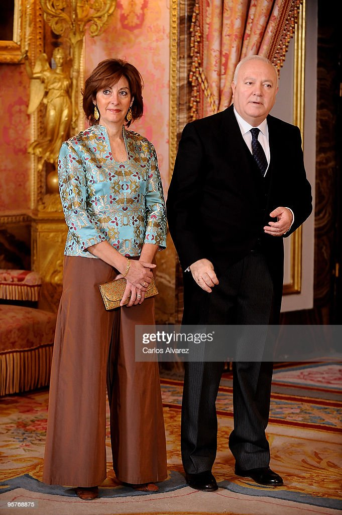 Spanish Royals Host Ambassadors Reception in Madrid
