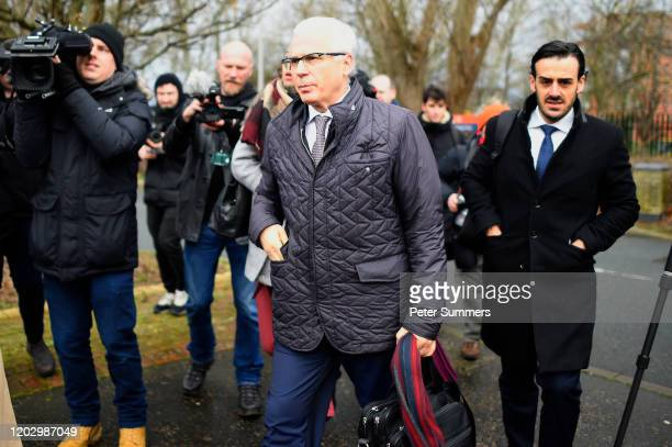 Spanish former judge Baltasar Garzon, part of the defence team of WikiLeaks founder Julian Assange, arrive at Woolwich Crown Court prior to the...