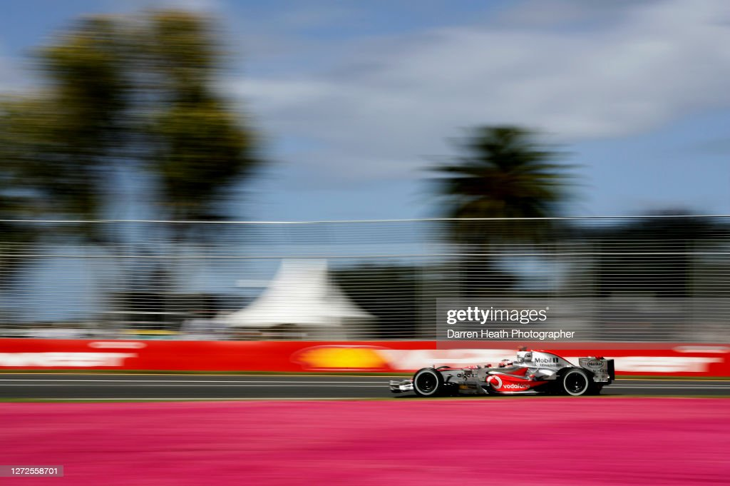 Fernando Alonso McLaren 2007 Australian Grand Prix : News Photo