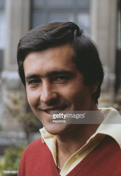Spanish golfer Seve Ballesteros at the Bob Hope British Classic at the Moor Park golf club in Hertfordshire September 1981