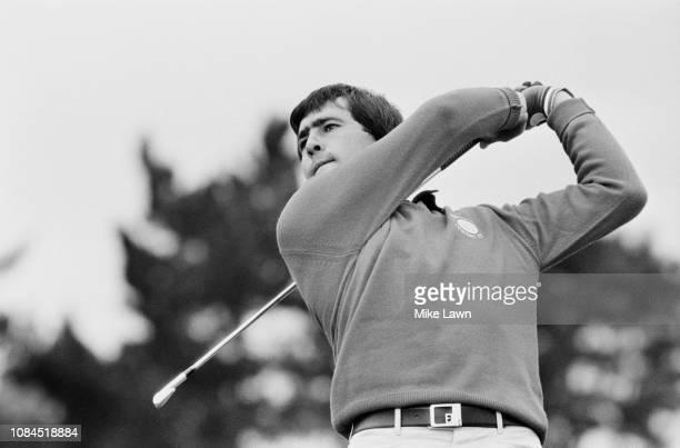 Spanish golfer Seve Ballesteros in action UK 12th September 1980