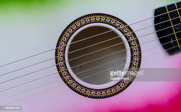 a spanish guitar - musical instrument string stock pictures, royalty-free photos & images