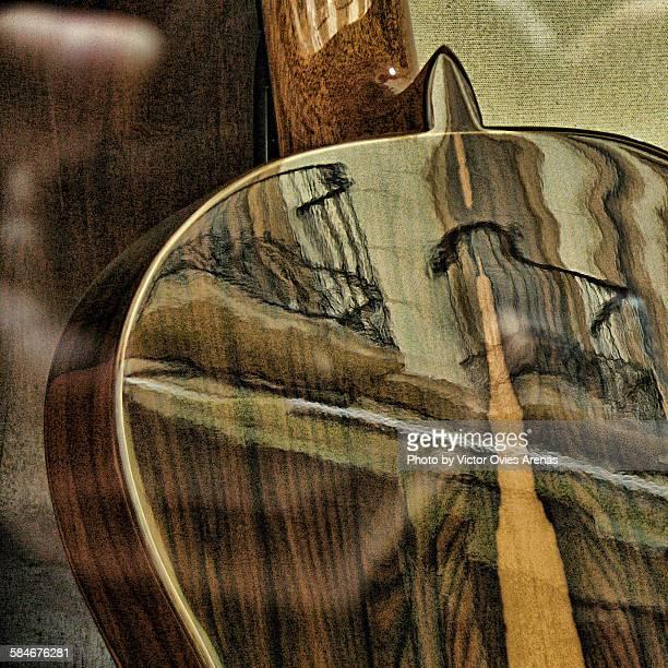 spanish guitar - victor ovies fotografías e imágenes de stock