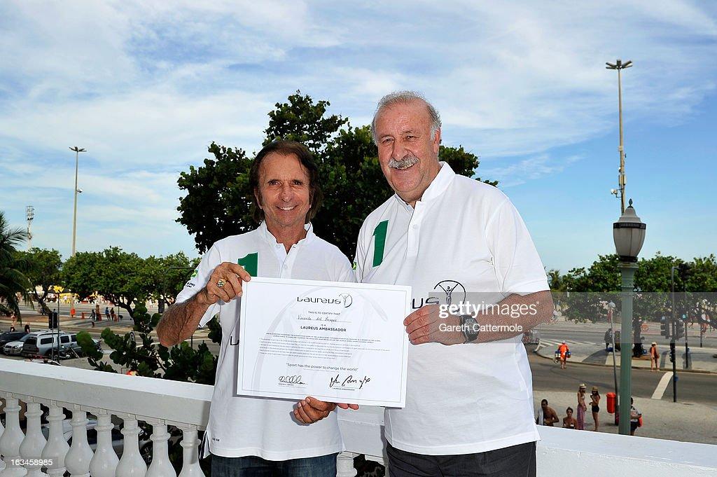 Vicente del Bosque Unveiled As Laureus Ambassador - 2013 Laureus World Sports Awards