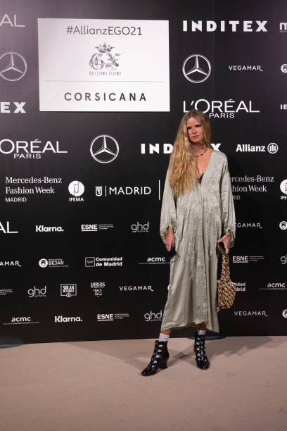 ESP: Celebrities - Samsung EGO - Mercedes Benz Fashion Week Madrid - April 2021