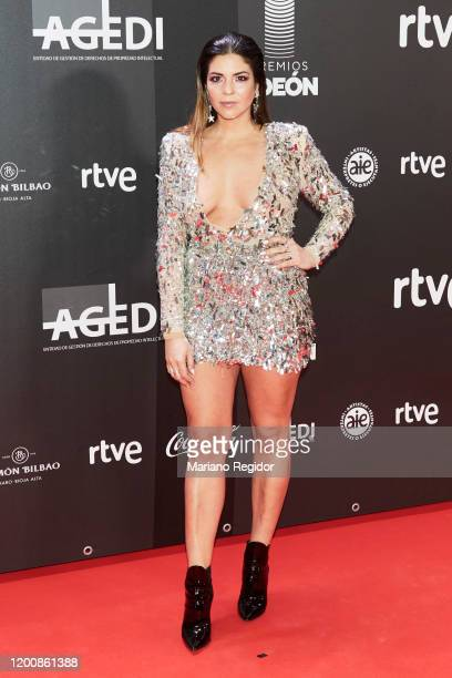 Spanish influencer Natalia Cabezas attends Odeon Awards 2020 at Royal Theater on January 20 2020 in Madrid Spain