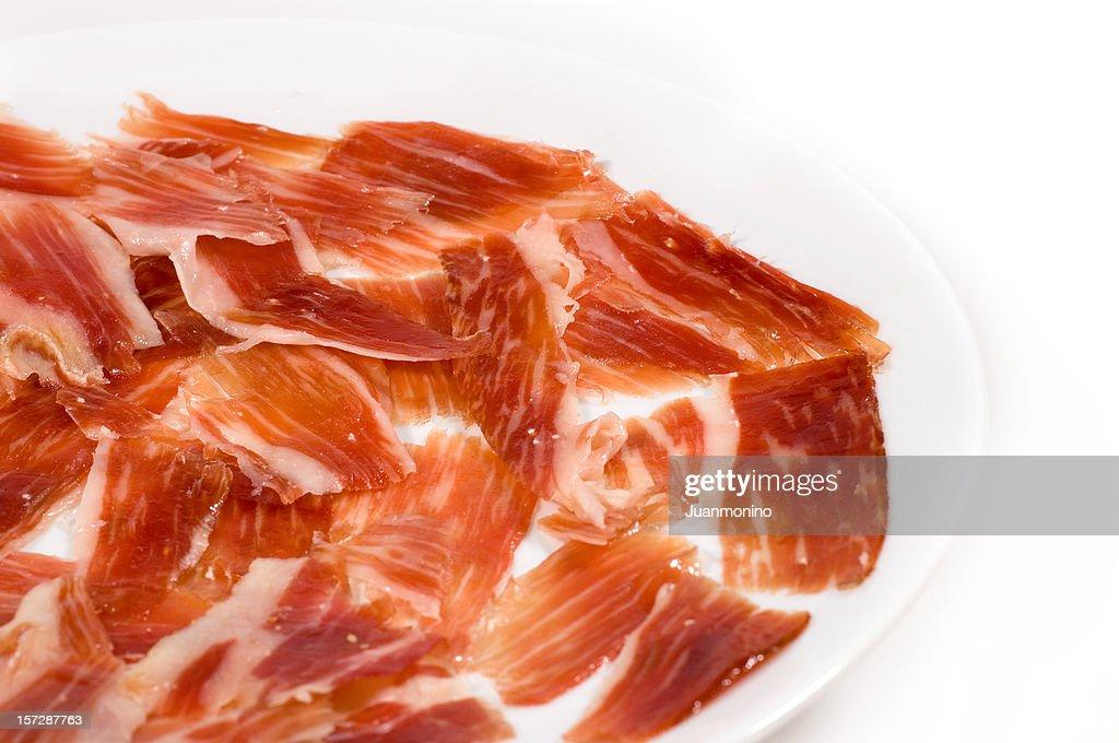 Spanish Jabugo Jamon : Stock Photo