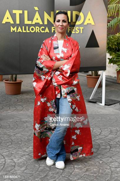 Spanish Journalist Ana Pastor attends to Closing Ceremony of Atlantida Mallorca Film Fest 2021 on August 01, 2021 in Palma de Mallorca, Spain.