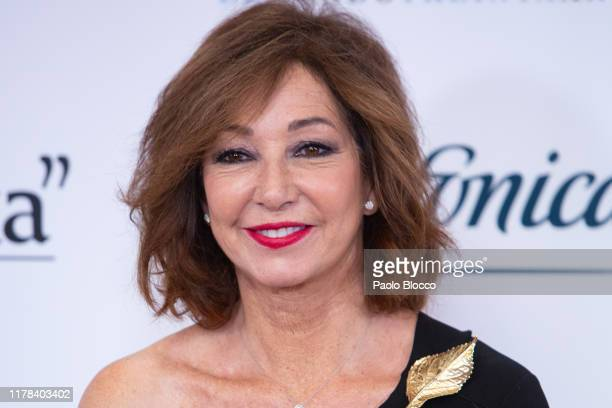 Spanish journalist Ana Rosa Quintana attends 'El Mundo' newspaper 30th anniversary at Westin Palace hotel on October 01 2019 in Madrid Spain