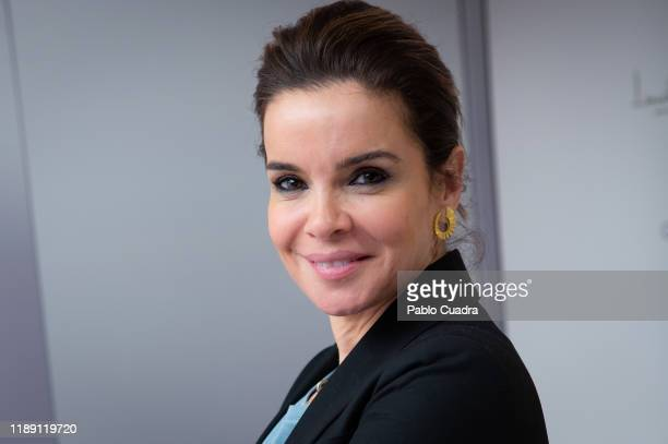 Spanish journalist Carme Chaparro presents 'DeLaDepresionSeSale' campaign at NH Collection Eurobulding Hotel on November 21 2019 in Madrid Spain