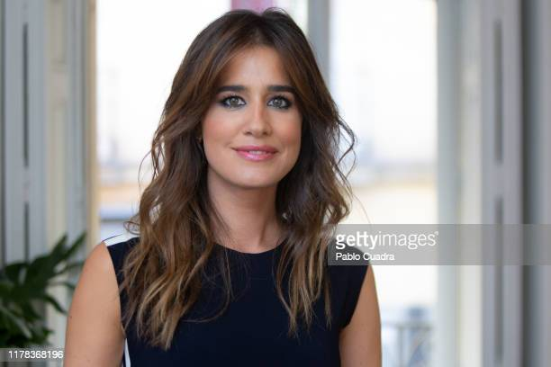 Spanish Journalist Isabel Jimenez presents a Hero Baby event on October 01 2019 in Madrid Spain