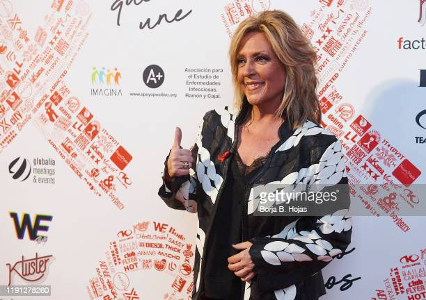 Spanish journalist Lydia Lozano attends photocall of 'El Lazo Que Nos Une' on December 01, 2019 in Madrid, Spain.