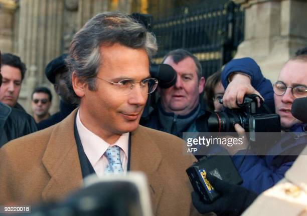 Spanish judge Baltasar Garzon arrives as Britain's highest court was beginning a fresh hearing at the House of Lords in London 18 January, to decide...