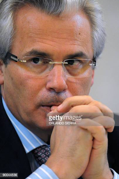 Spanish judge Baltazar Garzon participates of the Evolution of the International Criminal Law on Crimes of LeseHumanity and Severe Violations to...
