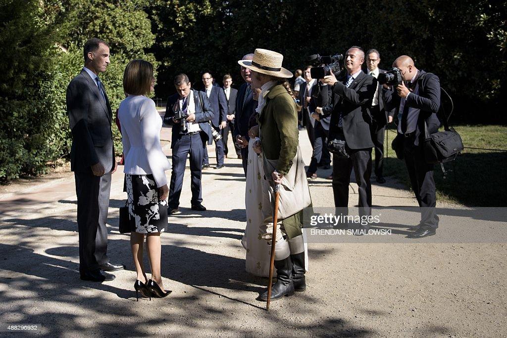 US-SPAIN-ROYALS : News Photo