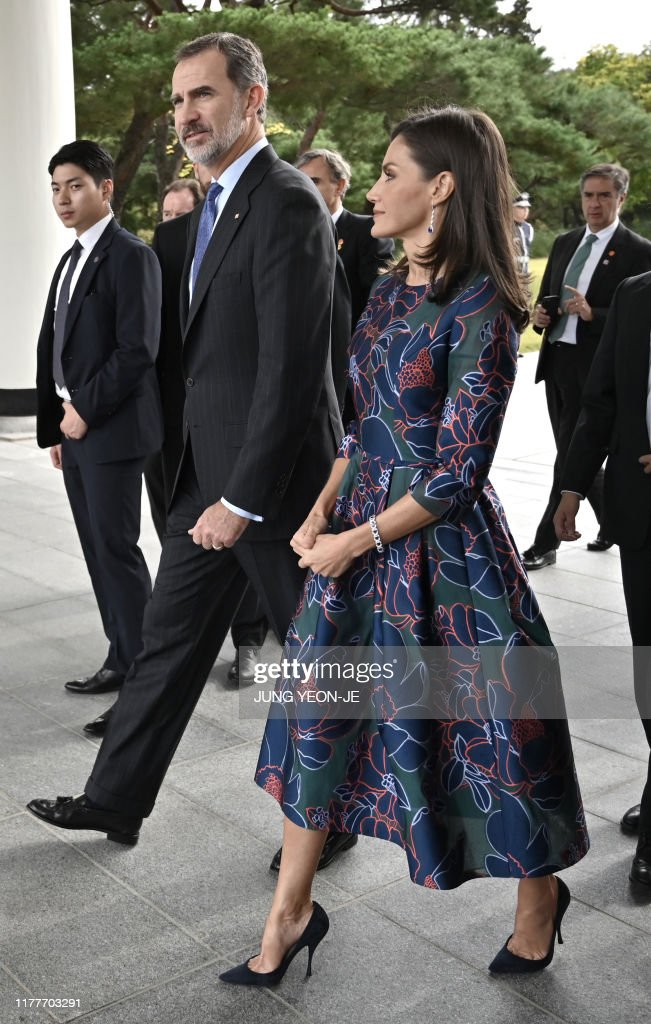 SKOREA-SPAIN-DIPLOMACY-ROYALS : News Photo