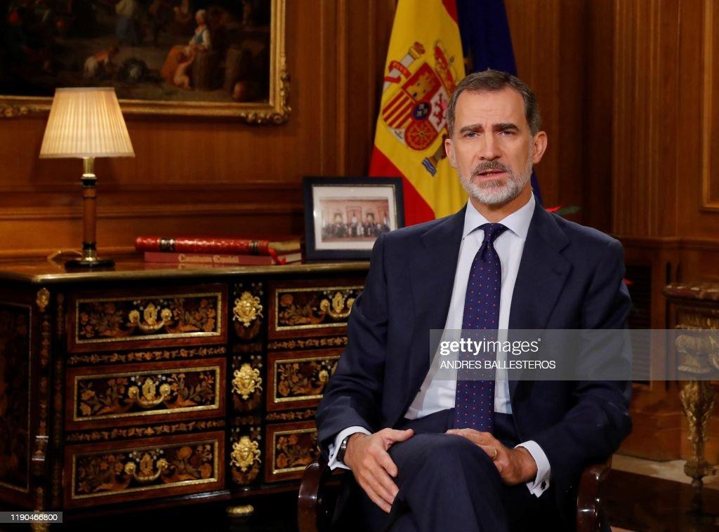 SPAIN-ROYALS-FELIPE : Nachrichtenfoto