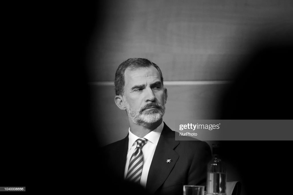 Spanish King Felipe VI In Valencia