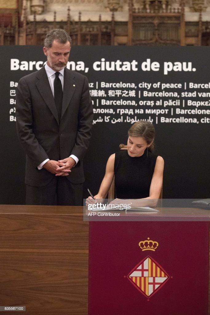 SPAIN-POLITICS-ROYALS-RAJOY : News Photo