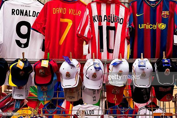 Spanish league team and player futball jersey for sale.