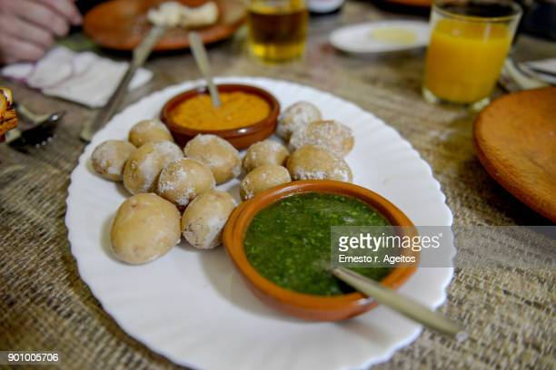 spanish local meals - las palmas de gran canaria stock pictures, royalty-free photos & images