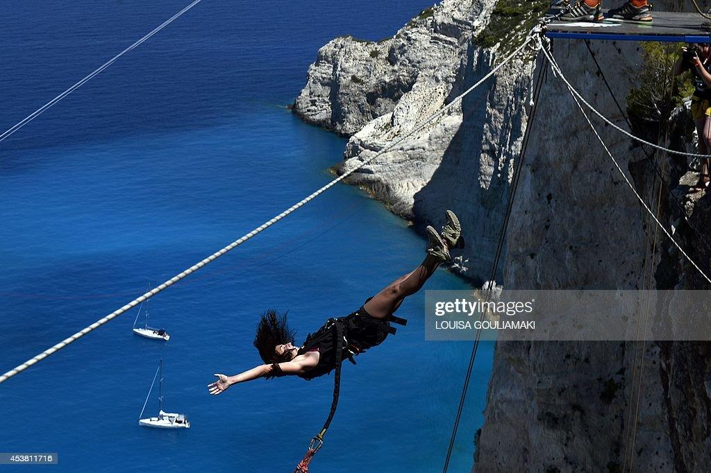 GREECE-LIFESTYLE-LEISURE-TOURISM : News Photo