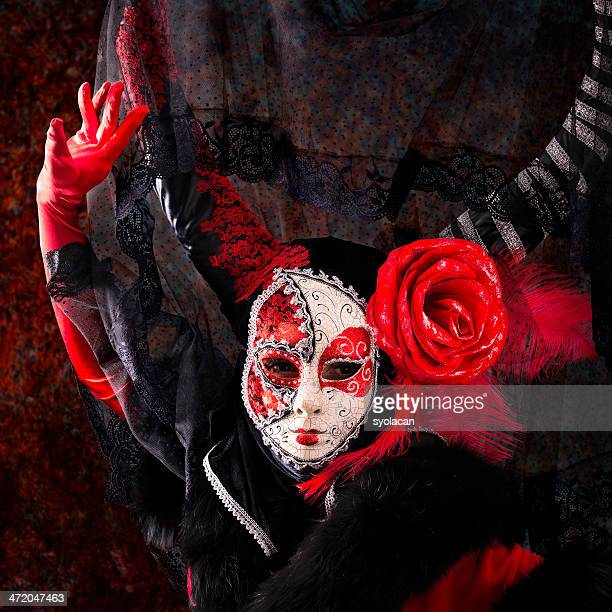 Spanish Masked Woman