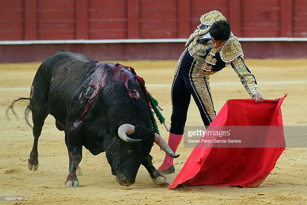 Malaga Bullfights Fair 2012: Enrique Ponce, Salvador Vega and Miguel Angel Perera