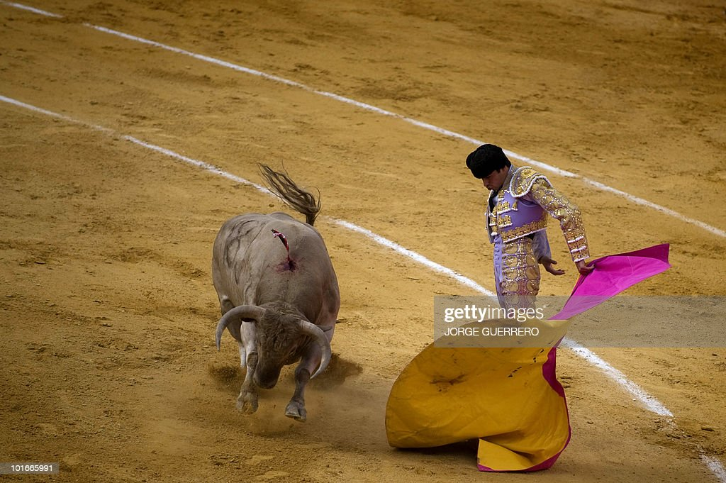 Spanish matador Miguel Angel Perera make