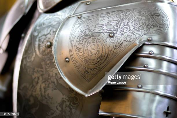 spanish medieval armour - traditional armor stock pictures, royalty-free photos & images