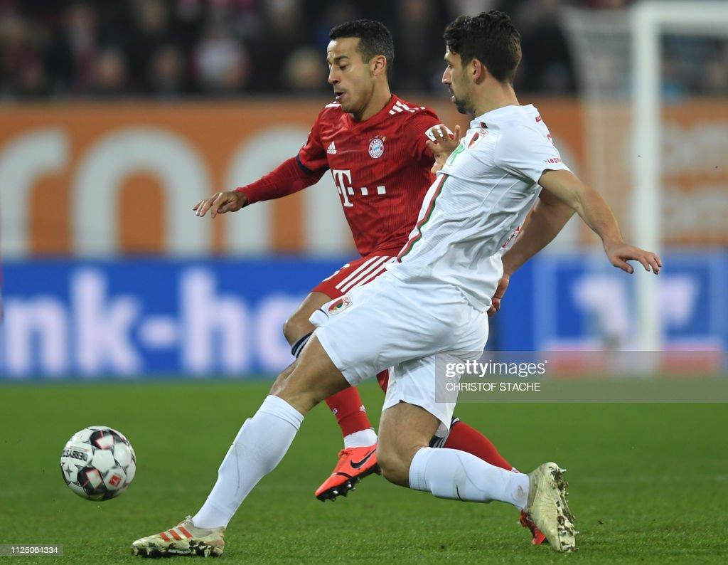 DEU: FC Augsburg v FC Bayern Muenchen - Bundesliga