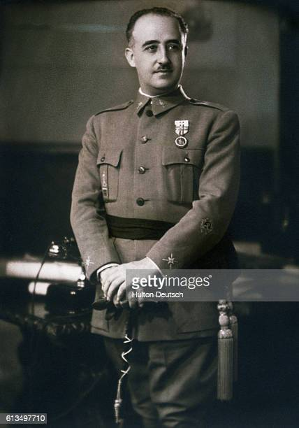 Spanish military dictator General Francisco Franco
